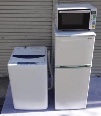冷蔵庫 洗濯機 電子レンジ 買取